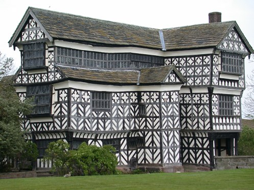 Little Moreton Hall, Cheshire, UK