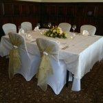 Rookery Hall Morning Room Gold wedding  (1)