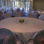 Chair covers and pink sash at The Tytherington Club (4)