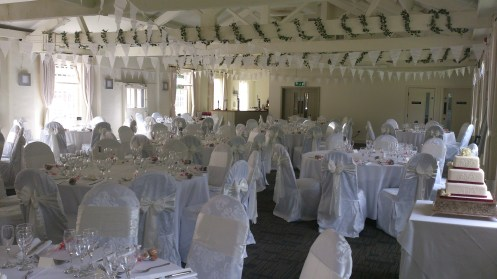 Quarry Bank Mill venue dressing
