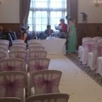 Ceremony in Delamere Suite