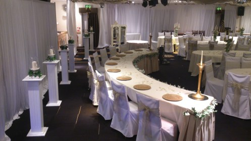 Grecian wedding Cheshire