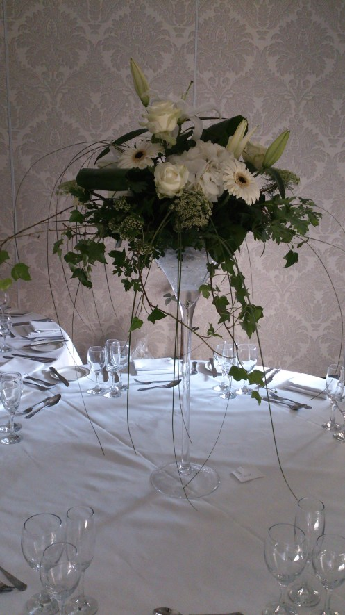 Flowers at Mottram Hall