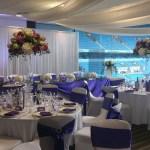 MCFC Wedding venue dressing
