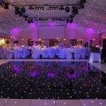 Dance Floor and up lights