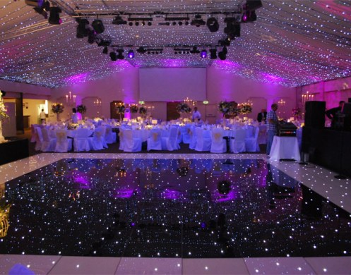 Dance Floor and up lights