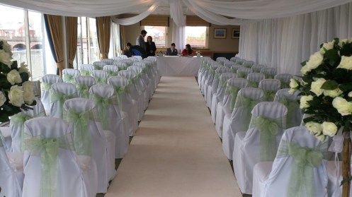 Ceremony Room at Chester Race Course