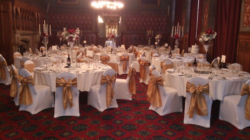 Town Hall venue dressing