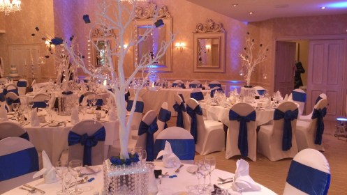 Cheshire venue dressing