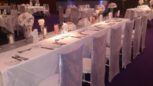 Carden Park Top Table venue dressing