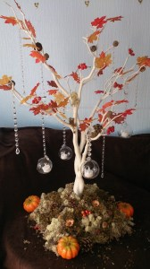 Autumn Tree centrepiece