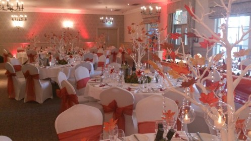 Venue dressers Mottram Hall