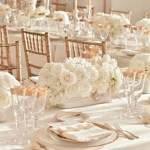Gold style venue dressing