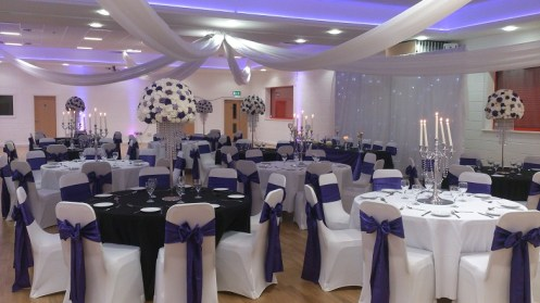 venue dressing for weddings in cheshire