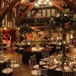 Wedding Barn venue dressing