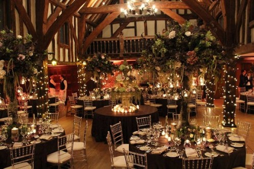 Tree centrepieces for weddings
