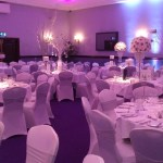 wedding venue dressing at Carden Park in Chester