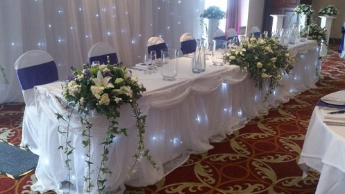 star cloth twinkling LED backdrop hire manchester