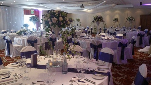 wedding venue dressing in manchester