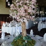 tree table centrepiece