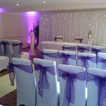 wedding venue lighting holywell