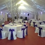 venue dressing at Bowdon rugby club