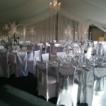 Combermere Abbey venue dressing