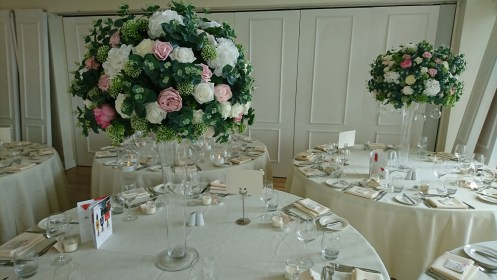 wedding centrepiece hire