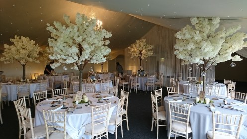 wedding blossom trees