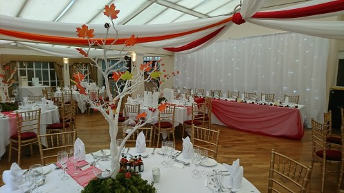 wedding venue dressing cheshire