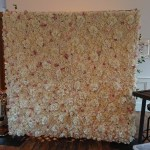 2x2m flower wall