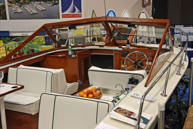 The Antiques And Classics Stand Out At The 2013 Minneapolis Boat Show