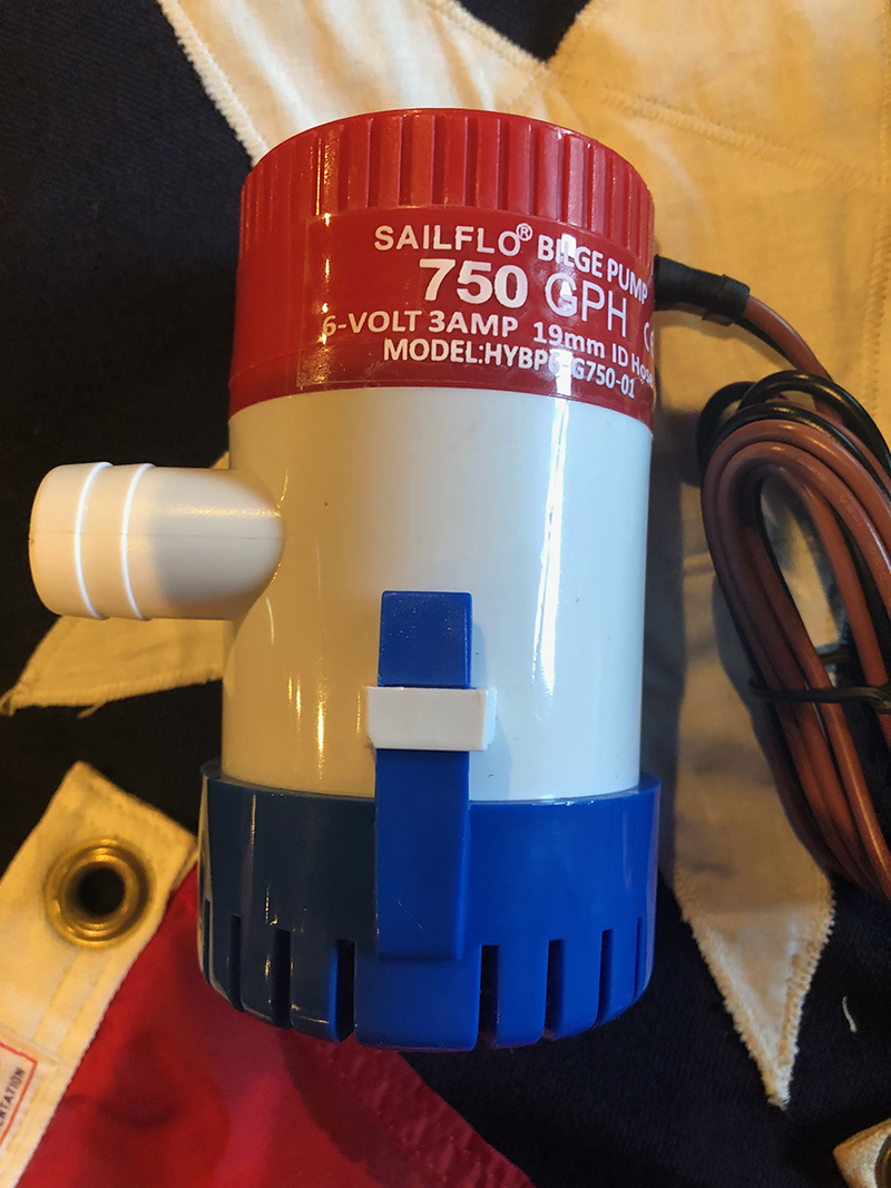 Six Volters You Have Been Heard 6 Volt Bilge Pumps Thanks To Jim Staib  Classic Boats  Woody