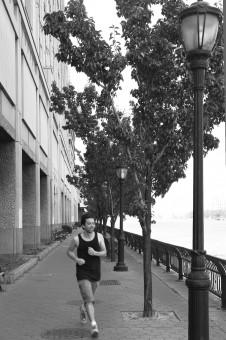 East River runner
