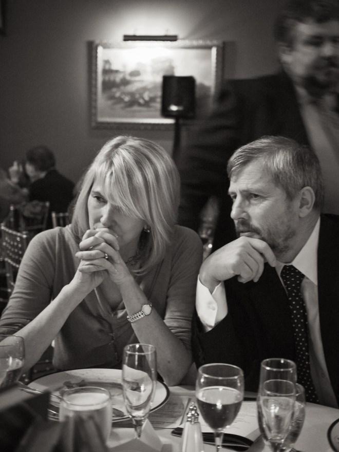 Karl Marlantes and Susan Lyne