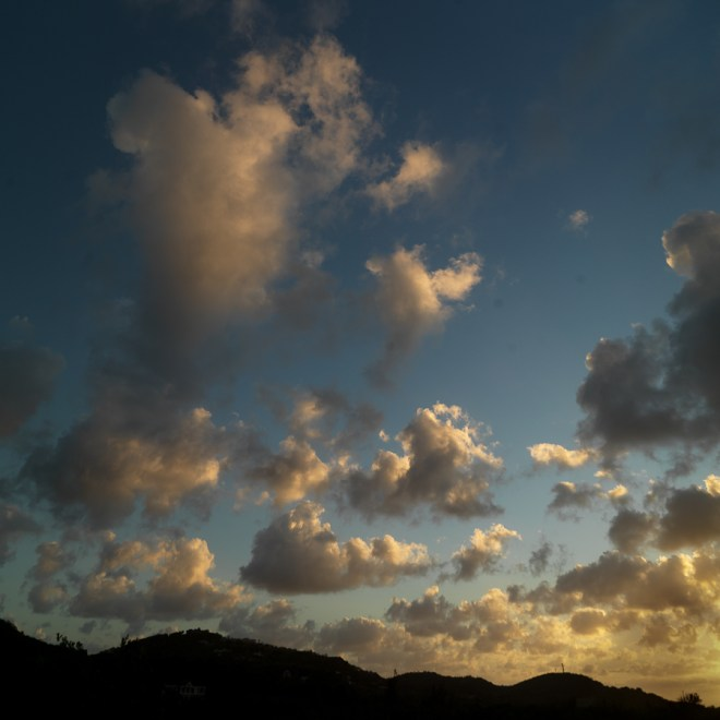 Sunset Mustique