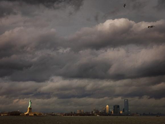 Statue of Liberty and Hoboken