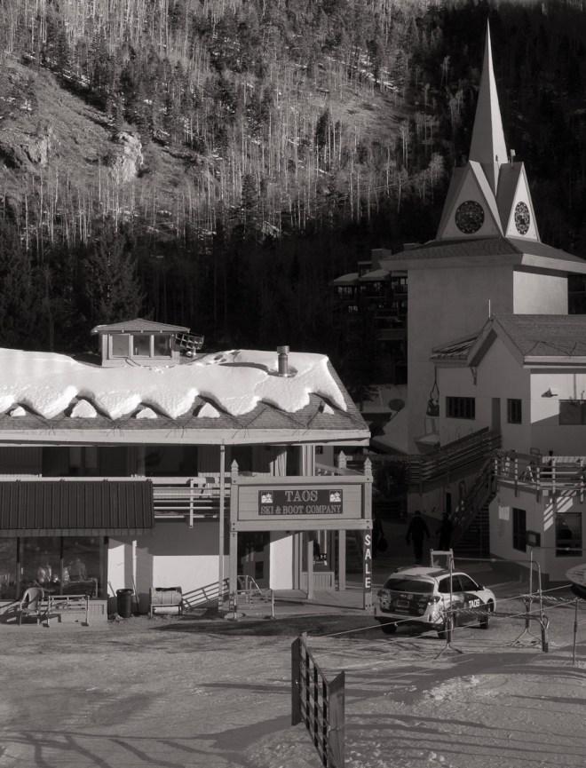 Taos ski village