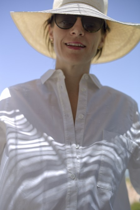 Caitlin - still in white