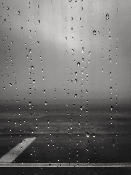 Rain delayed departure