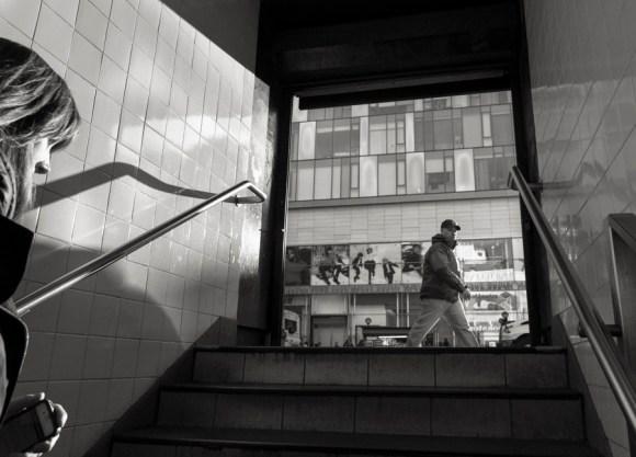 Subway steps