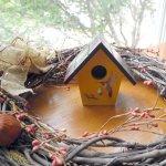 Autumn Inspired Birdhouse