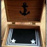 USN Keepsake Box Inside view
