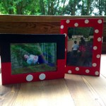 Minnie Mouse and Mickey Mouse Picture Frame