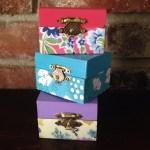 Mini Wooden Jewelry Box