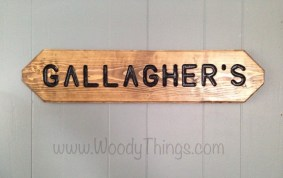 Personalized Wall or Lawn Sign