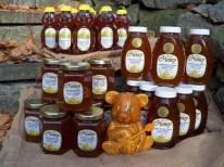 Autumn Harvest Honey w bear