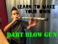 DIY DART BLOW GUN