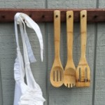 Hang your apron and wooden spoons