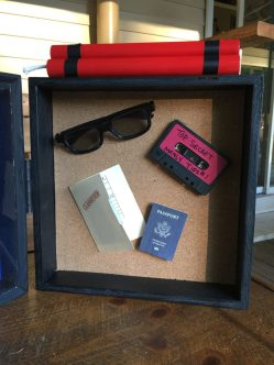 Top Secret Spy Shadowbox Right inside View